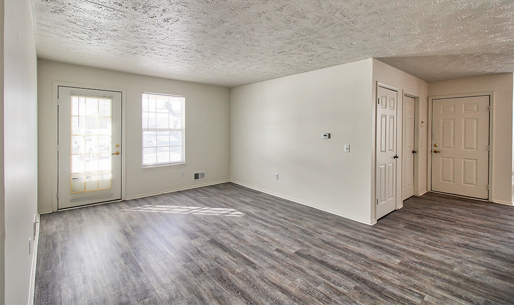 Enjoy a spacious living room at Westview Commons Apartments apartments
