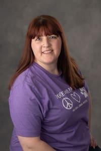 Stephanie Hamerlinck, Hospital Manager at Oak Knoll Animal Hospital animal clinic.