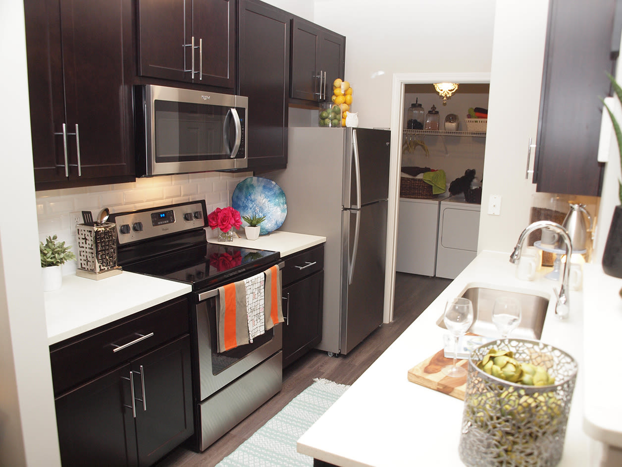 Modern kitchen at Sterling Lakes in Mason, Ohio