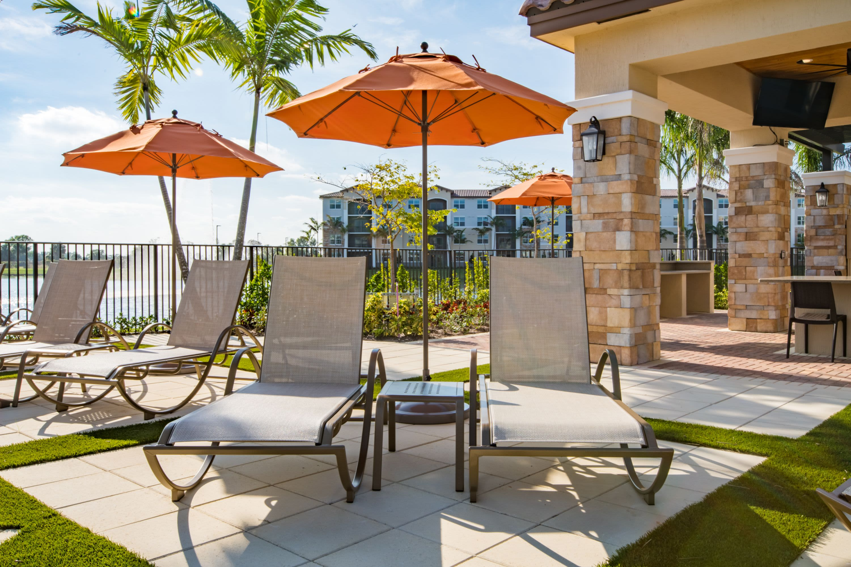 Sun Deck at Luma Miramar Apartments in Miramar, Florida.