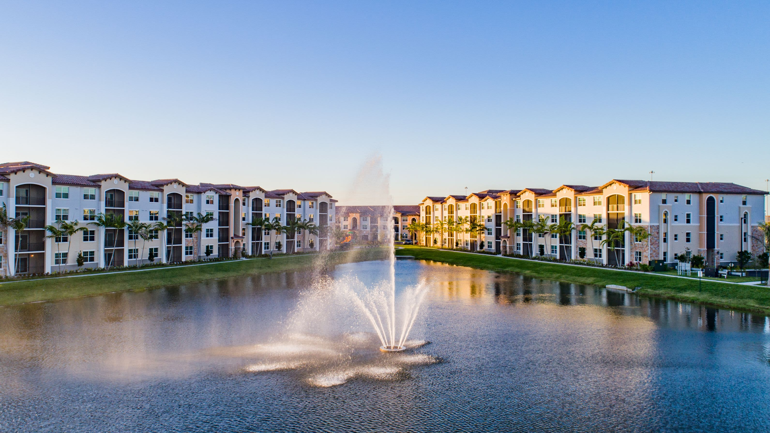 Pond Views at Luma Miramar Apartments in Miramar, Florida