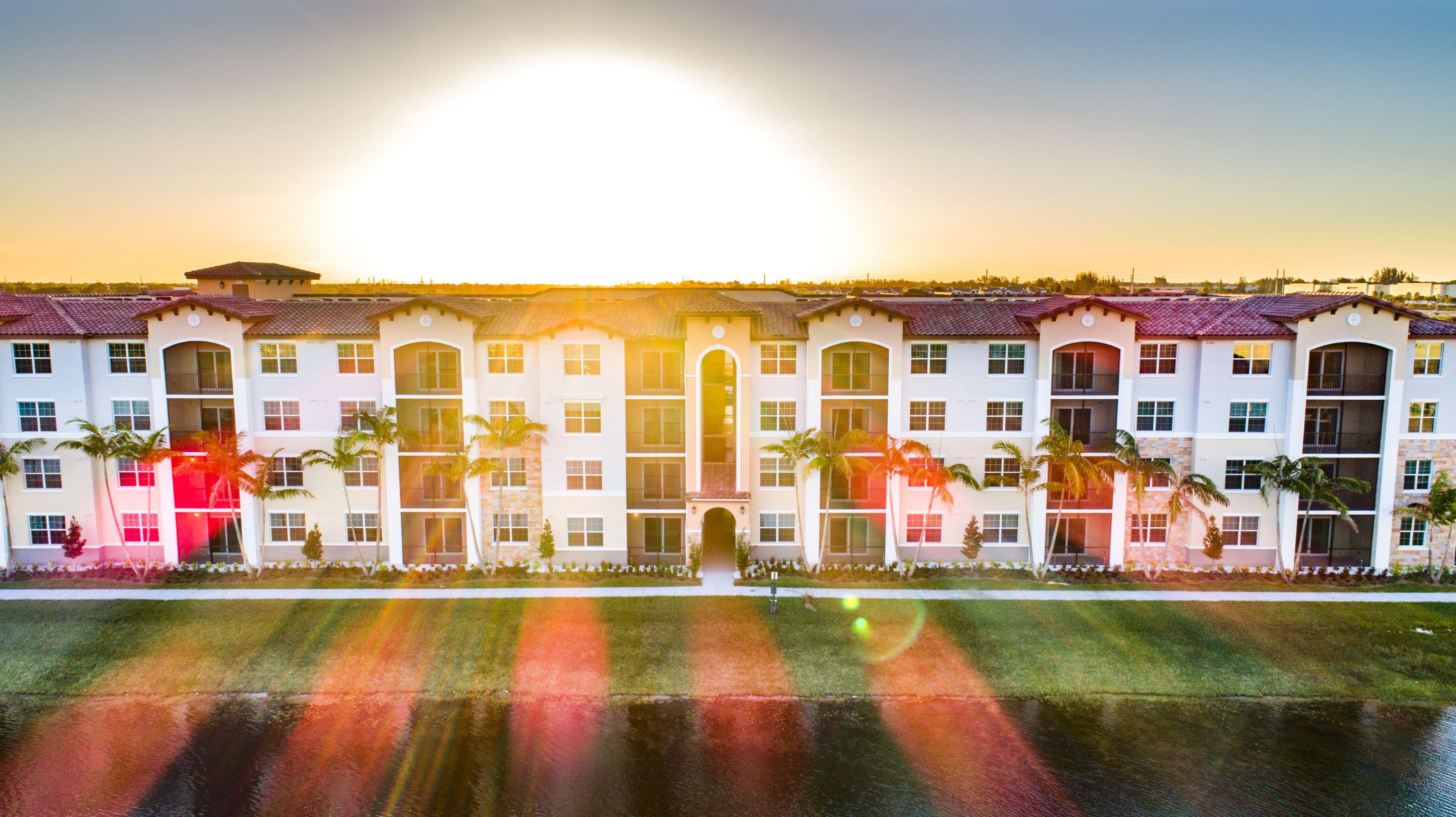 Stunning Exteriors of Luma Miramar Apartments in Miramar, Florida