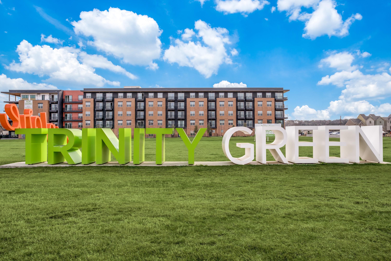 Alta Trinity Green in Dallas. TX sign