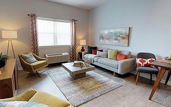 1 bedroom, 1 bath virtual tour at Villa Capri Senior Apartments in Rochester, New York