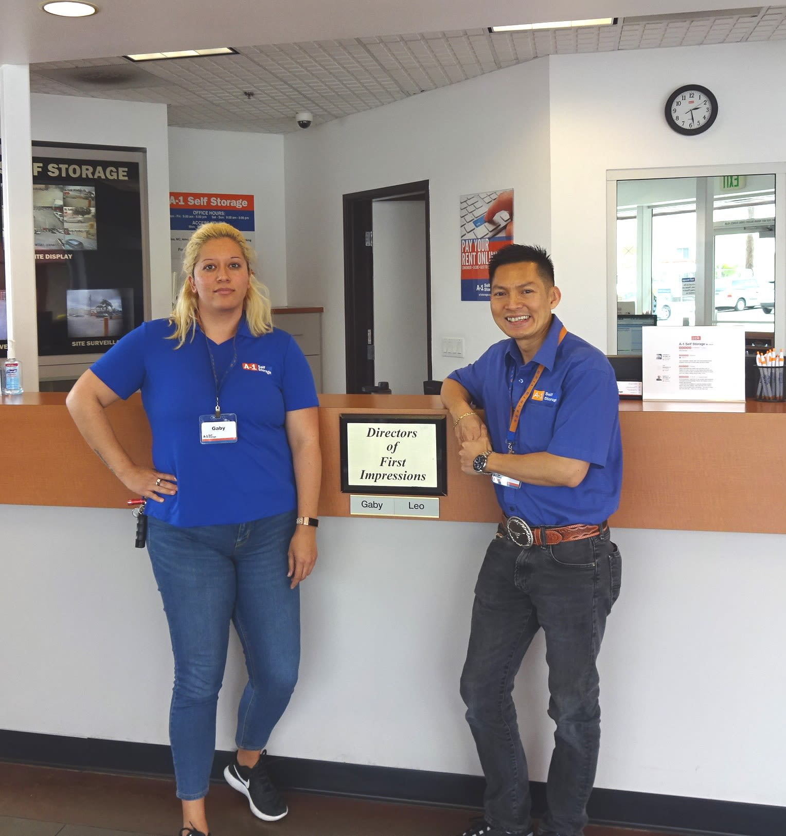 San Diego A-1 Self Storage team