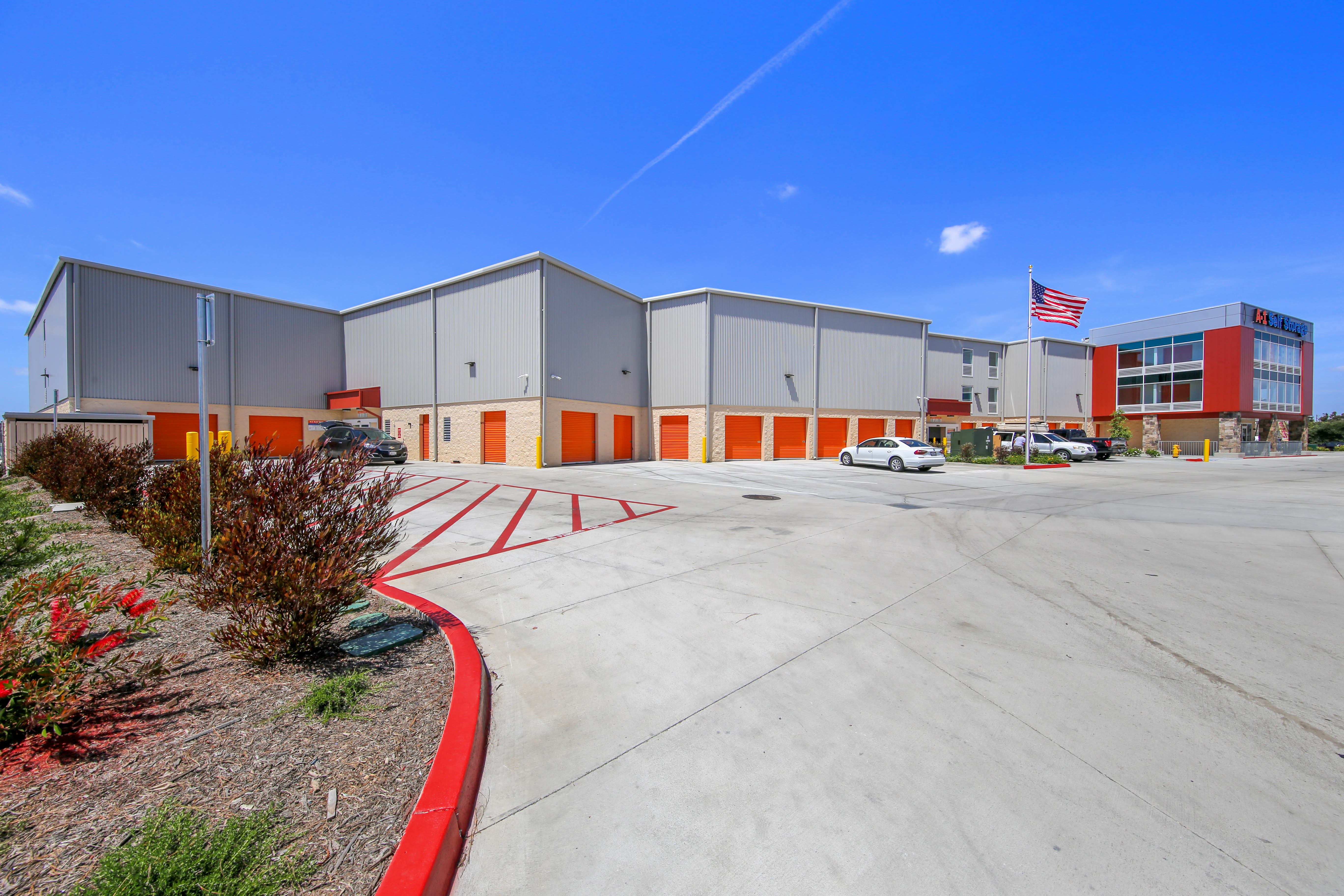 Exterior units at A-1 Self Storage in National City, California