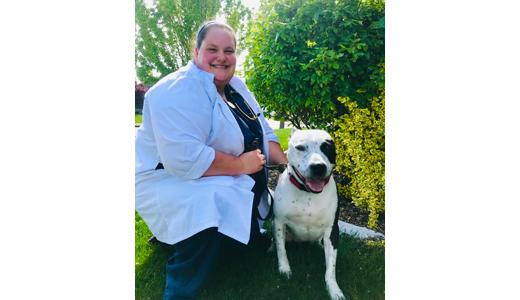 Dr. Kirsten Jensen at Animal Crackers Veterinary Hospital