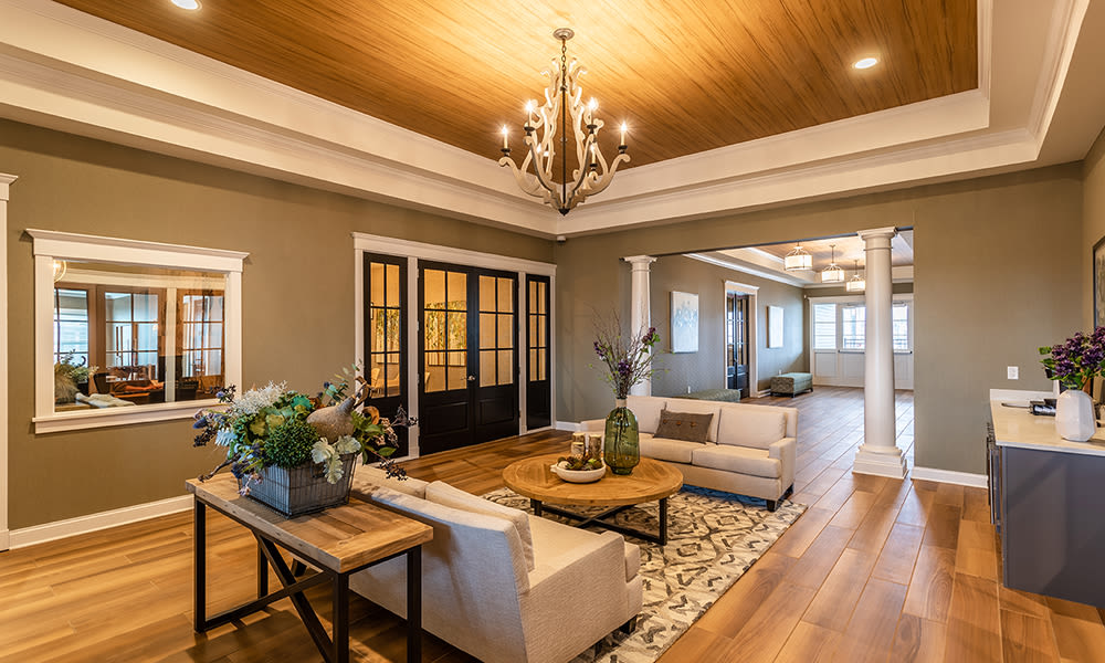 Woodland Acres Townhomes offers a beautiful clubhouse in Liverpool, New York