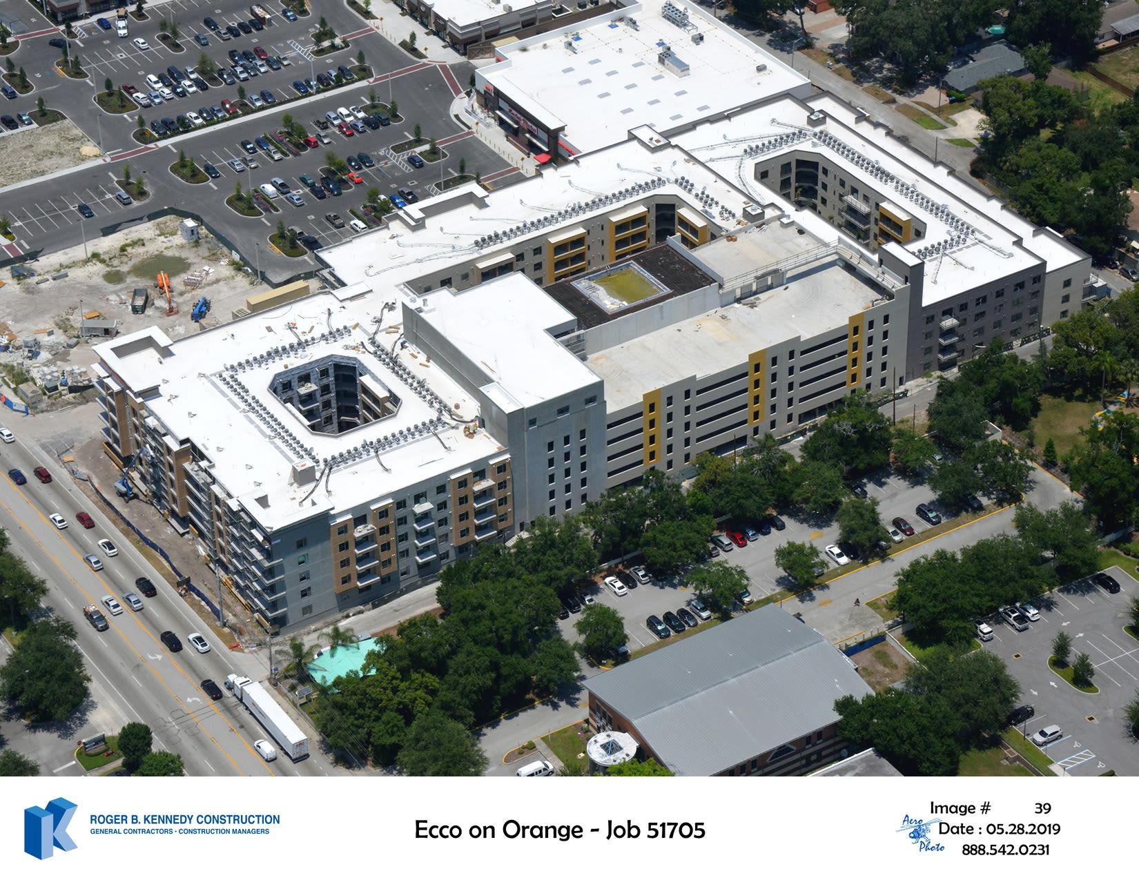 Construction Update ECCO on Orange
