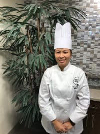 Donna Guzman, Executive Chef of Brightwater Senior Living of Tuxedo