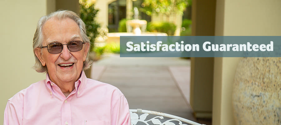 Satisfaction Guaranteed at Merrill Gardens at Bankers Hill