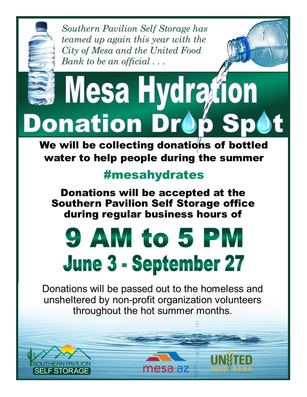 Mesa Hydration Campaign 2019
