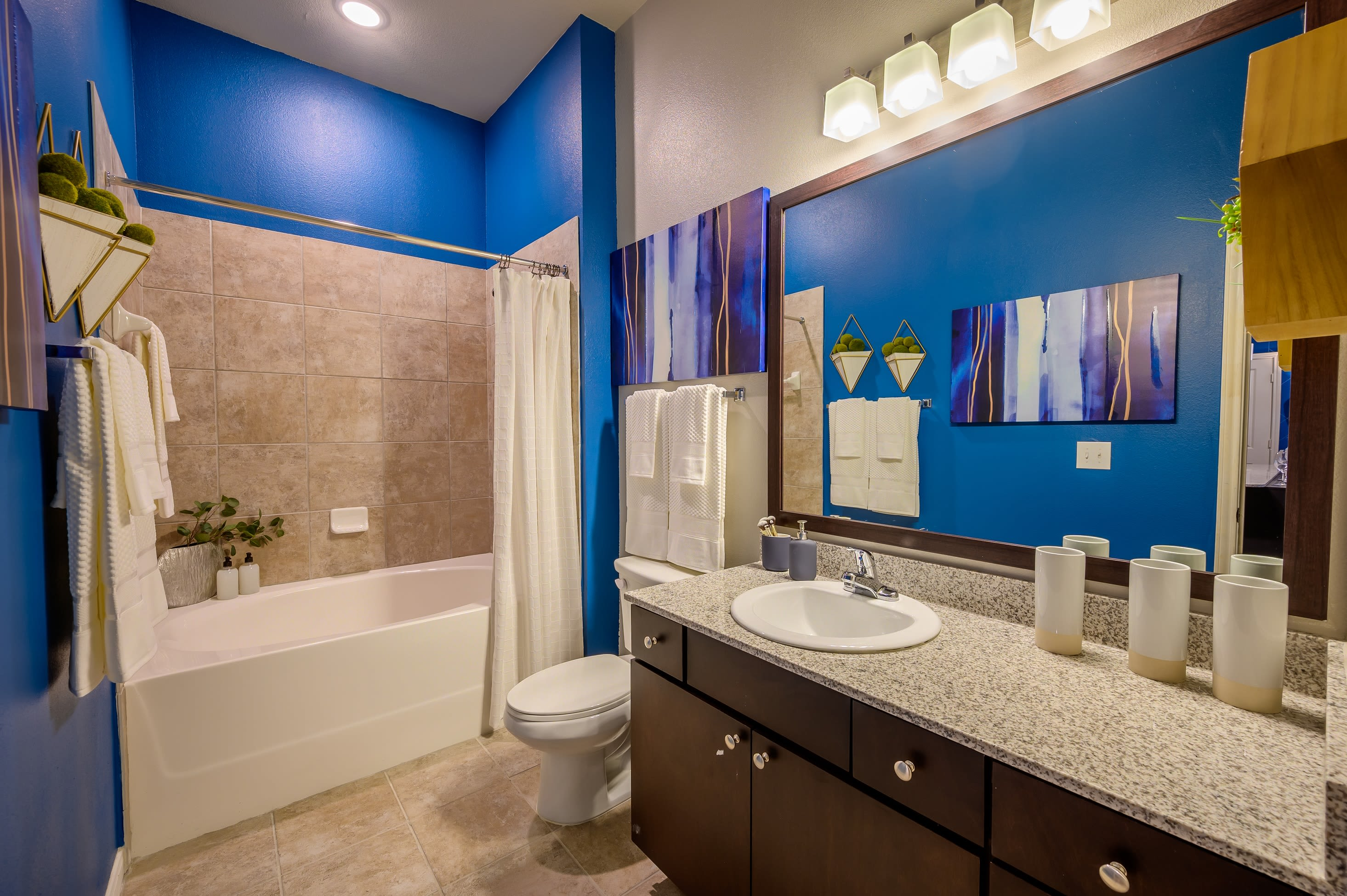Bathroom at Aspire at 610 in Houston, Texas