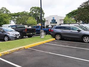Parking Stall at Mililani Hawaii Self Storage, Hawaii