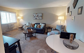 1 bedroom, 1 bath virtual tour for The Summit at Ridgewood in Fort Wayne, Indiana