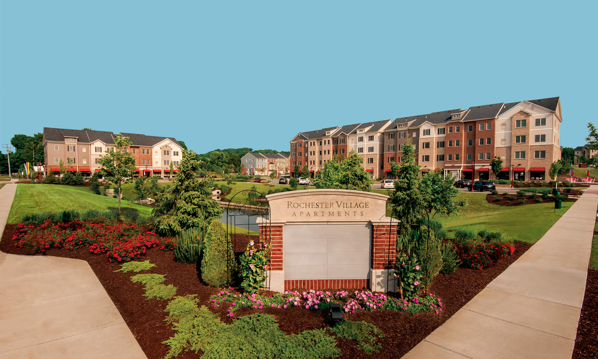 Apartments in Cranberry Township, Pennsylvania