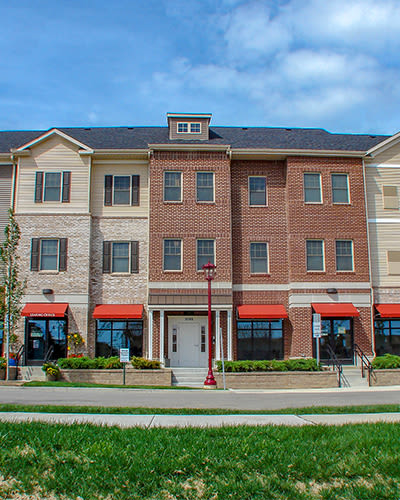 Great neighborhood at Rochester Village Apartments at Park Place in Cranberry Township, Pennsylvania