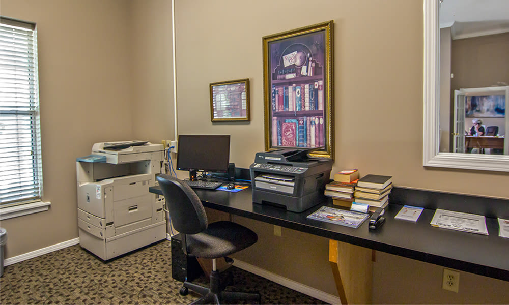 Office at Highlands of Montour Run in Coraopolis, Pennsylvania