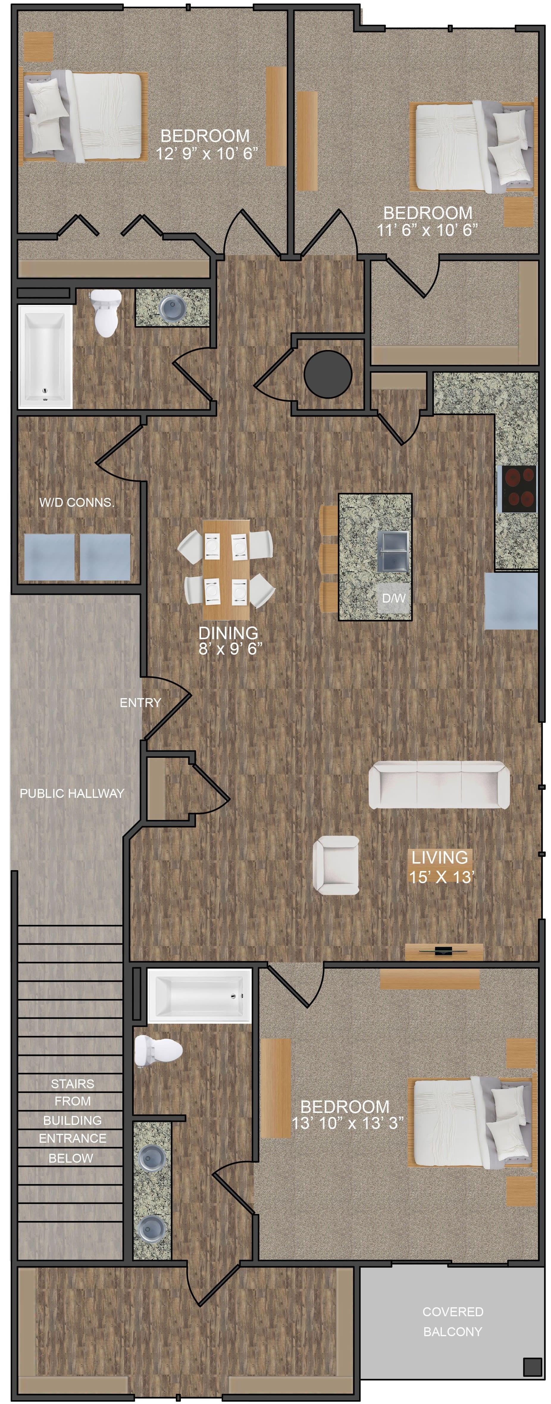 Apartments for Rent in Hixson Chattanooga, TN | Oakwood Estates