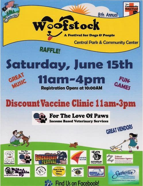 Sutherlin Woofstock - Jun 15, 2019