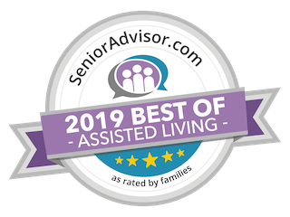2019 Best of Assisted Living badge