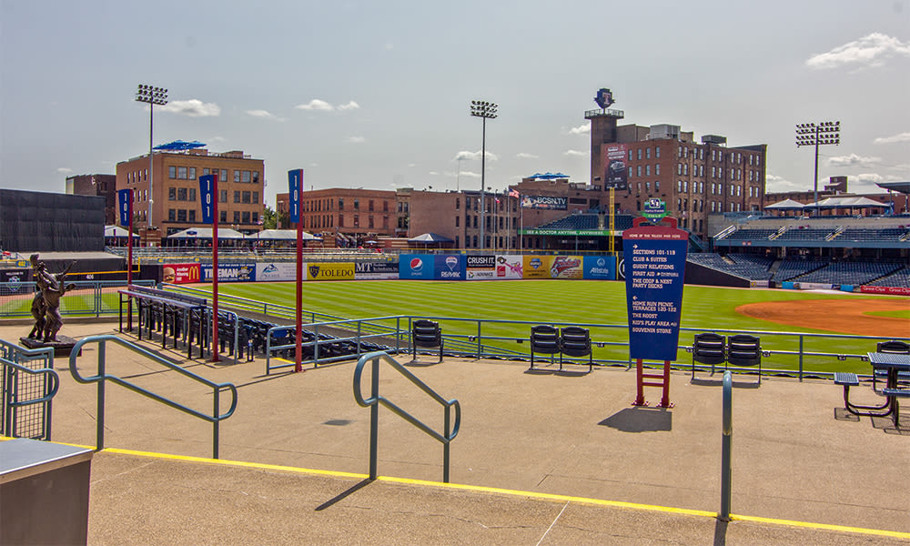 Fifth Third Field near Steeplechase Apartments & Townhomes in Toledo, Ohio