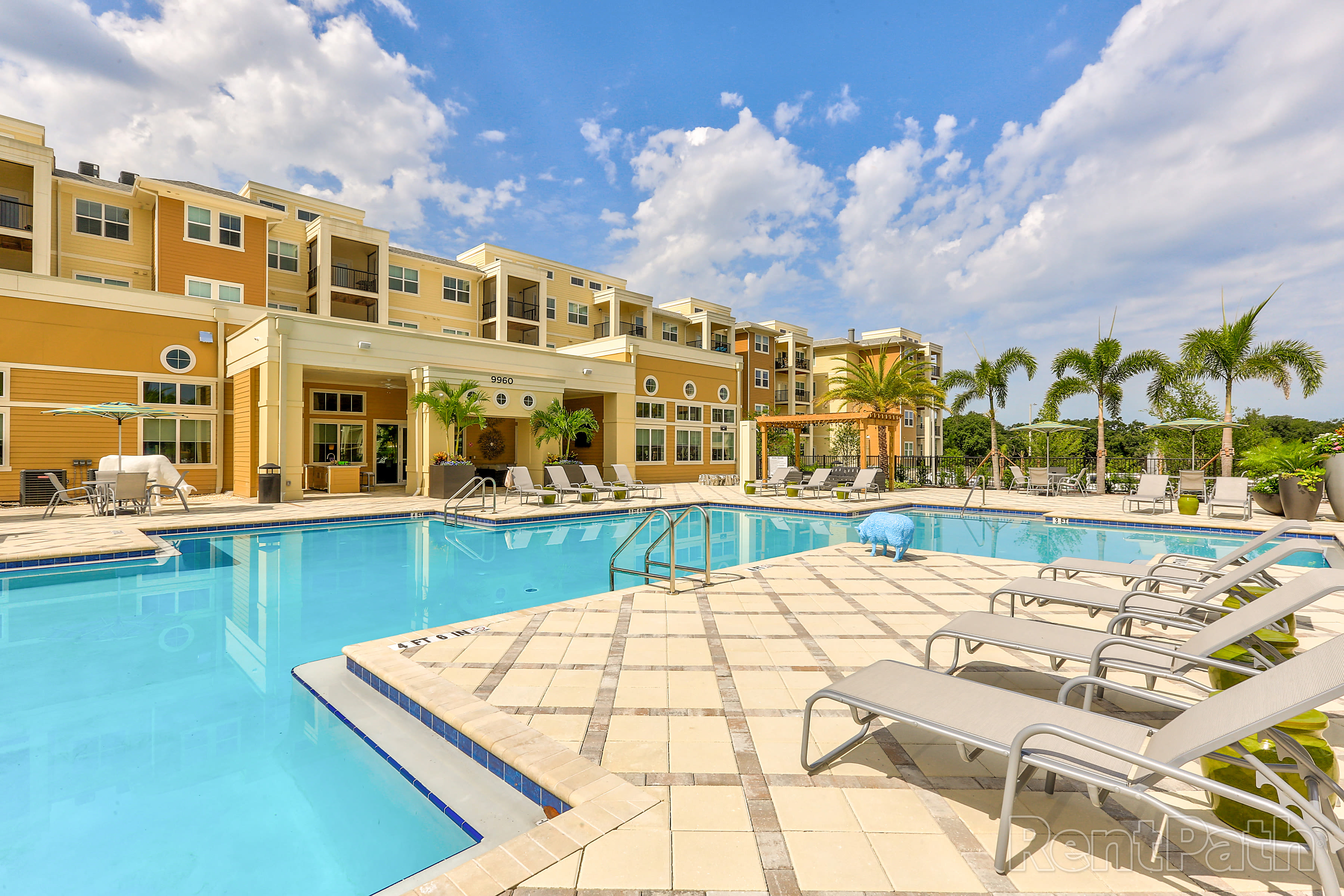 Pool at Lola Apartments in Riverview, FL