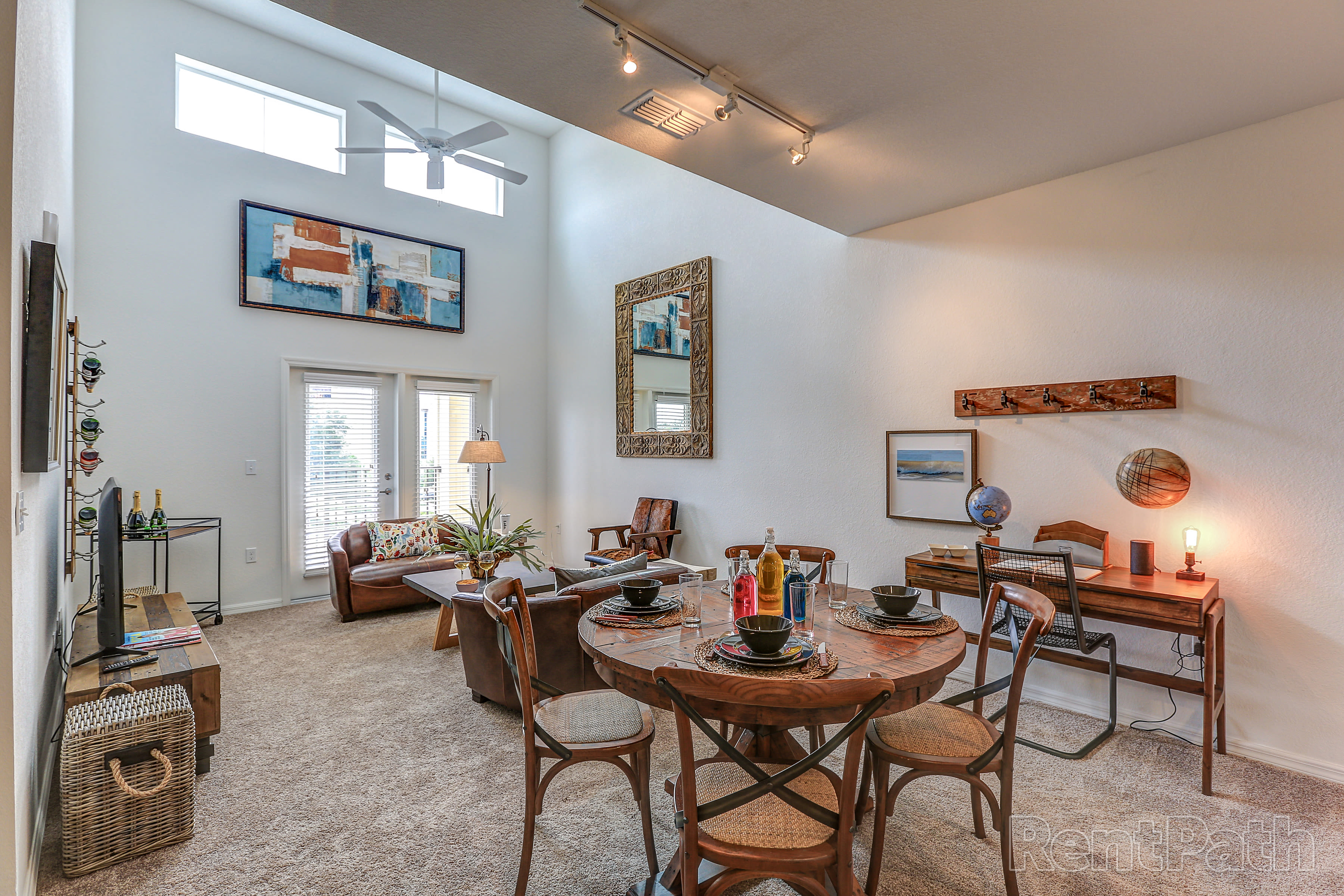 Dining room at Lola Apartments in Riverview, FL