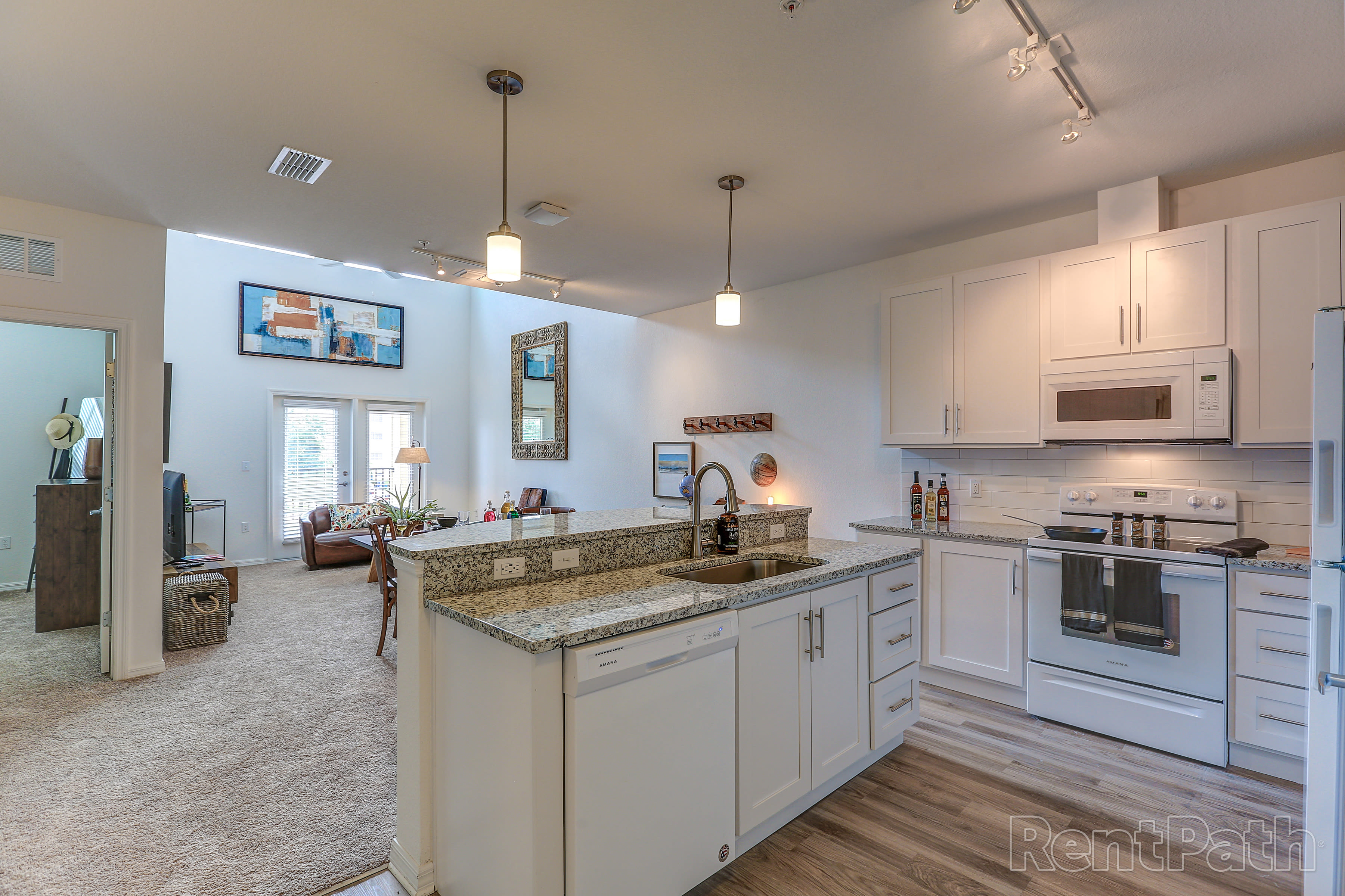 Open floor plan at Lola Apartments in Riverview, FL