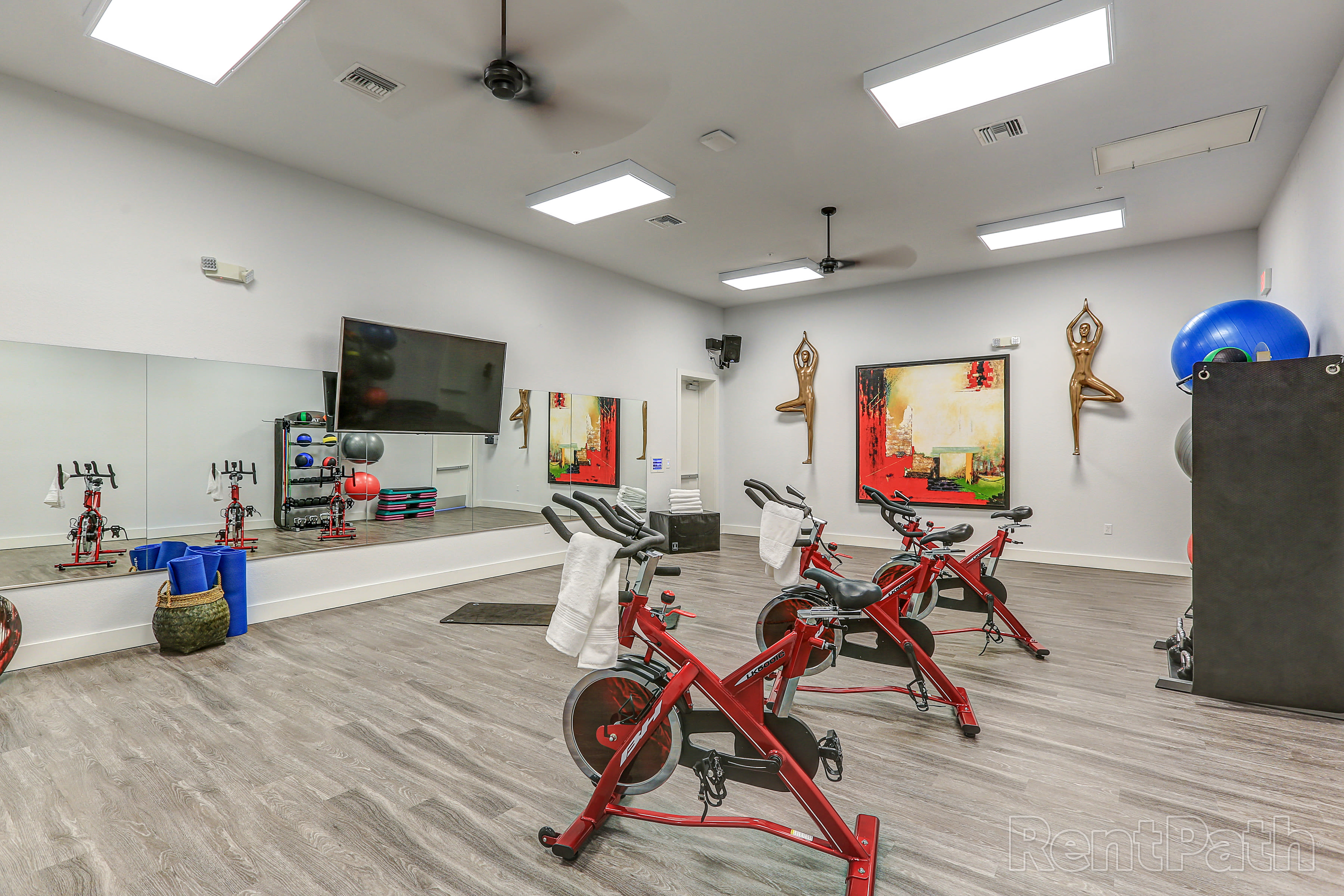 Cardio area at Lola Apartments in Riverview, FL