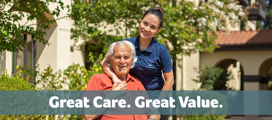 Great care great value at Merrill Gardens at Tacoma