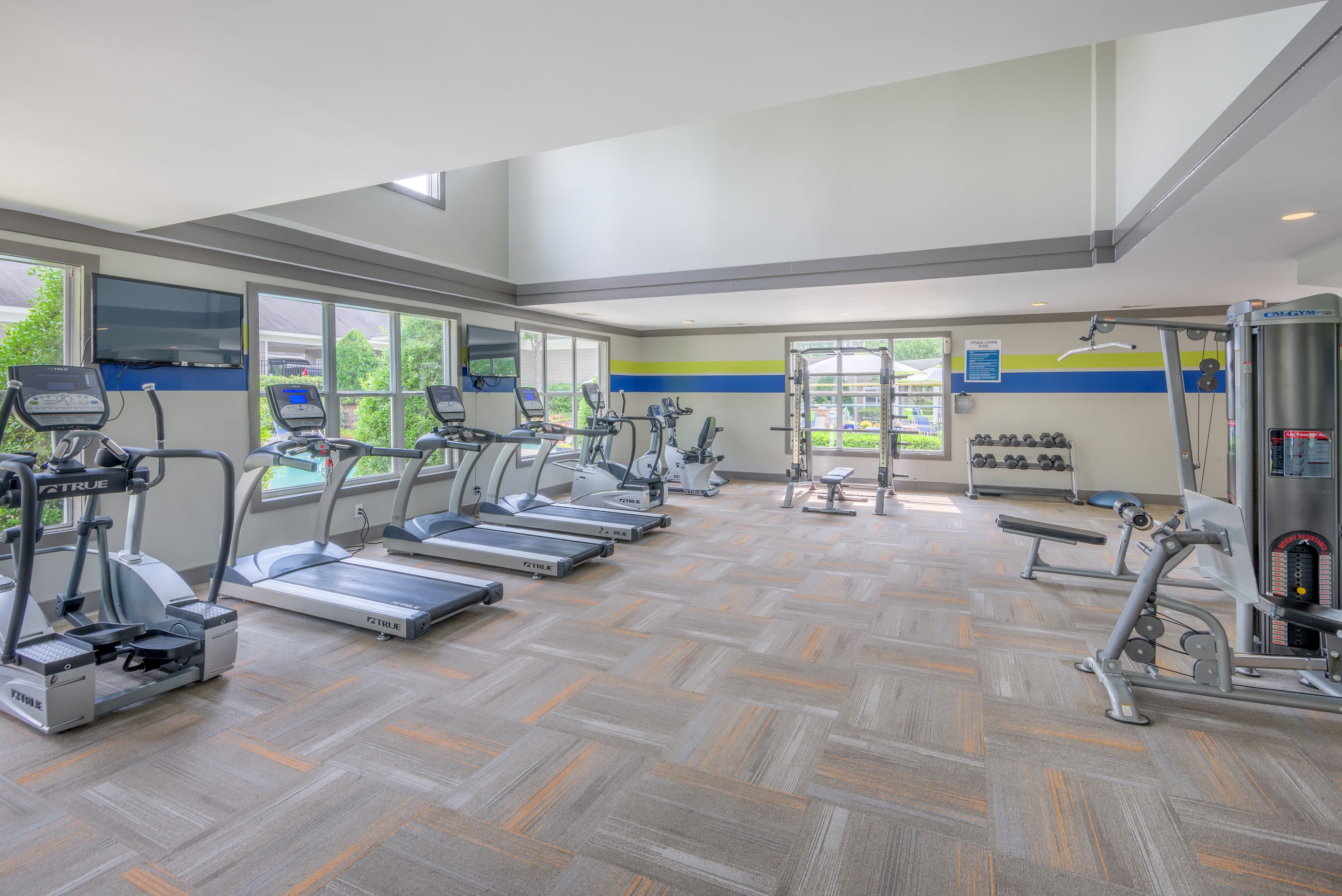 Fitness Center at The Mark in Raleigh, North Carolina
