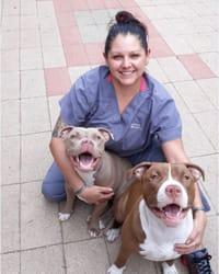 Lianas at Tucson Animal Clinic
