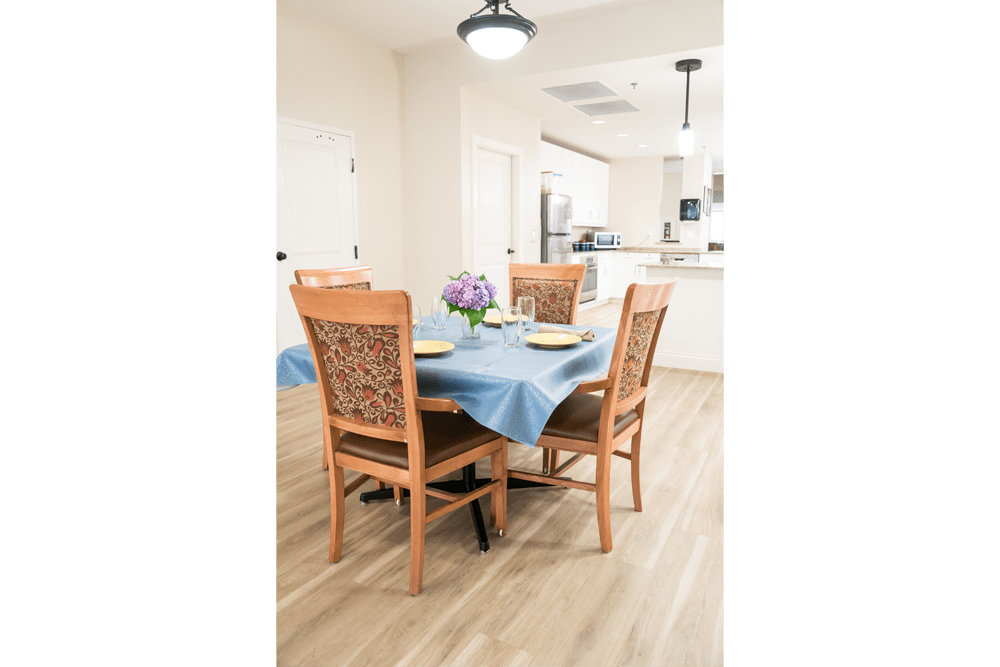Avenir Memory Care at Little Rock offers a dining area in Little Rock, Arkansas