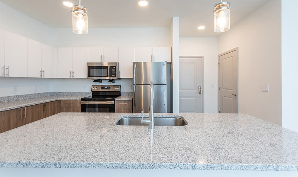 Large kitchens at apartments in Webster, New York