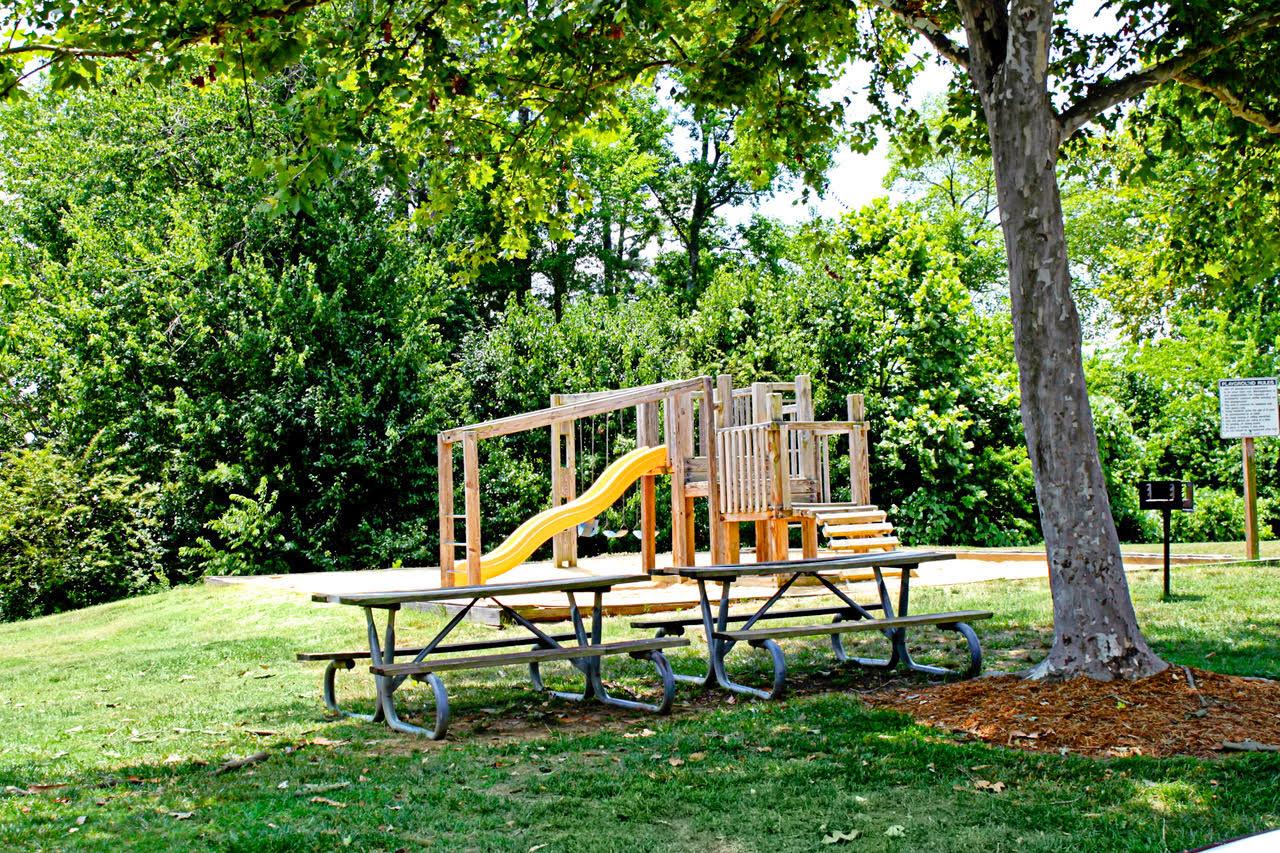 playground at Meadowridge Apartments in Franklin, VA