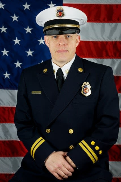 Brian Helmick Fire Chief