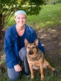 Makayla at University West Pet Clinic