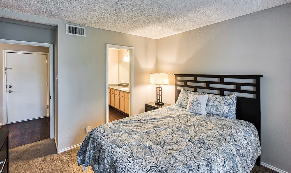 Spacious bedroom at apartments in Pittsburgh, Pennsylvania