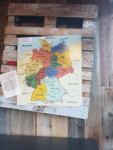 Kathrin's Biergarten Germany Map