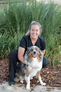 Brooke at Starch Pet Hospital in Des Moines, Iowa