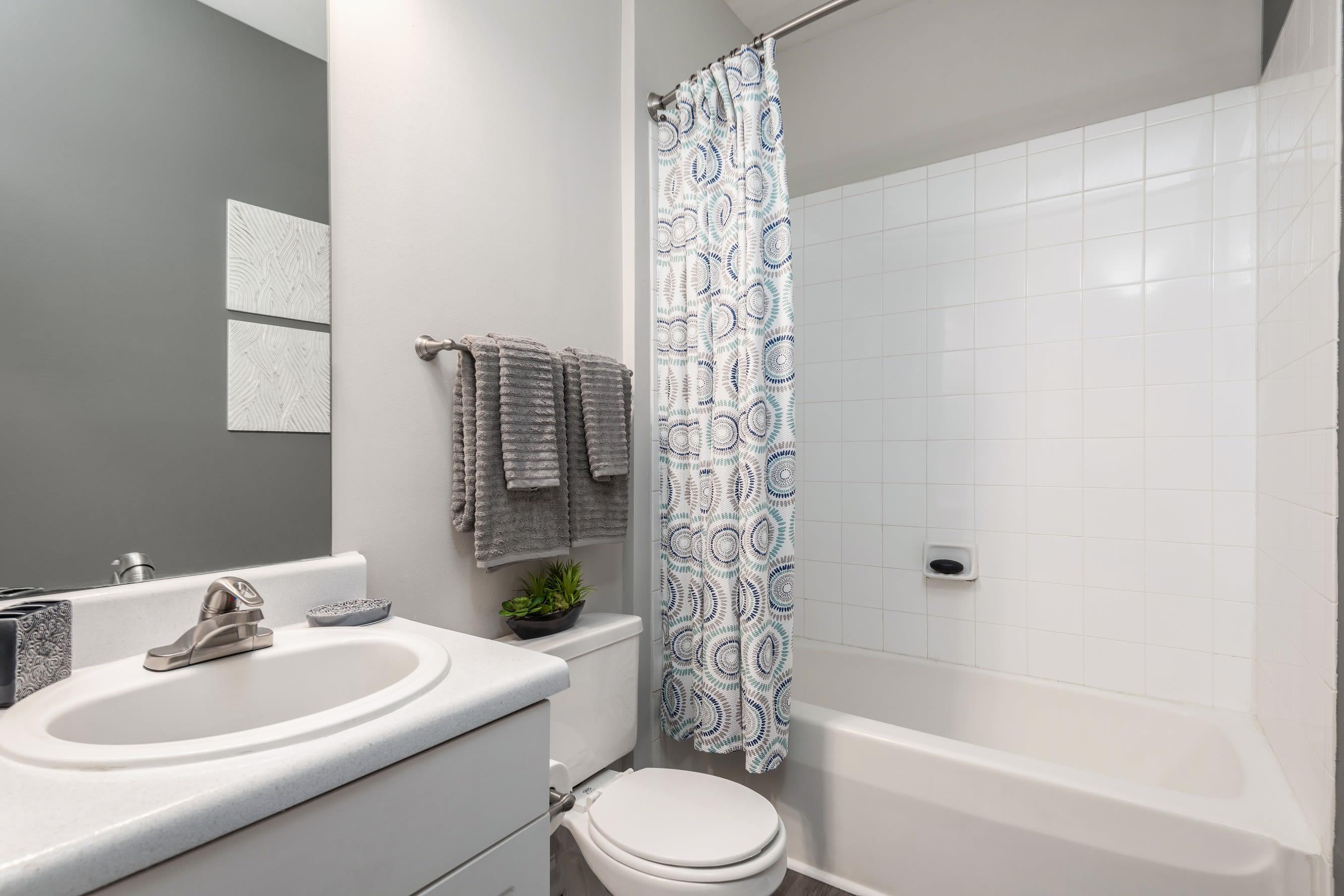 Bathroom at Highlands at Alexander Pointe in Charlotte, North Carolina