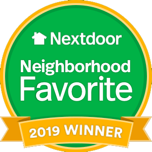 Nextdoor Neighborhood Favorite 2019 Winner logo