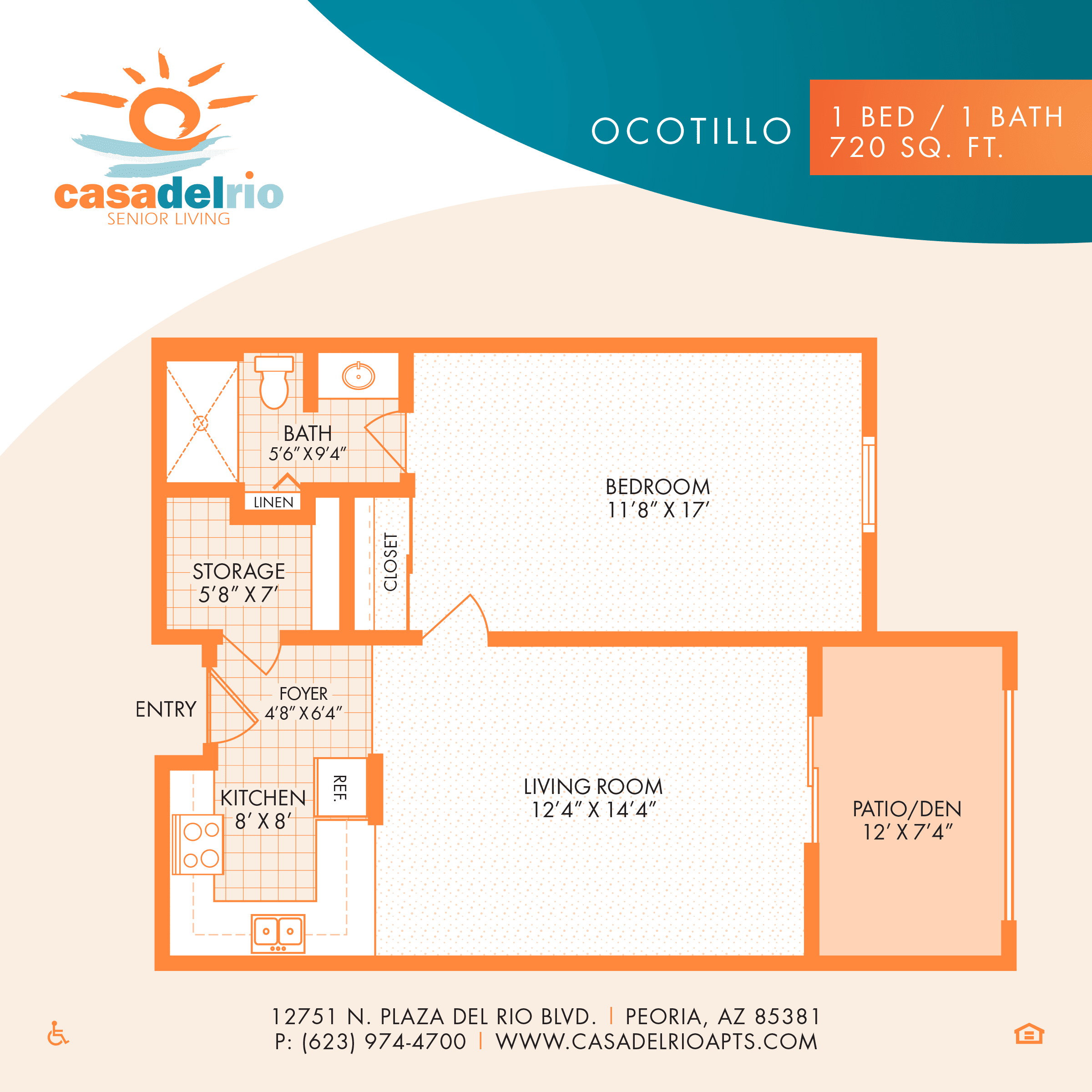 Peoria, AZ Senior Living Floor Plans