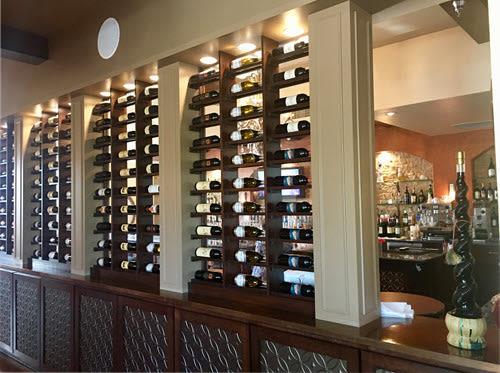 Buon Appetito Wine Shelf