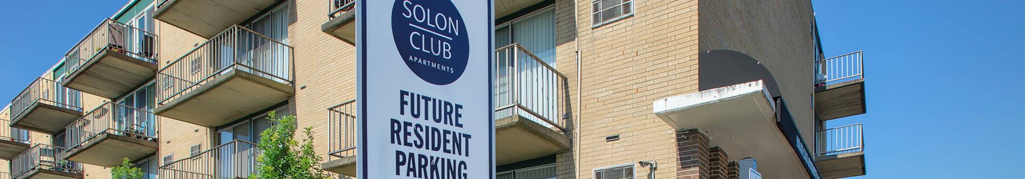 Great amenities at Solon Club Apartments