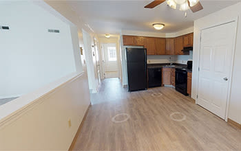 2 bedroom, 1 bath virtual tour