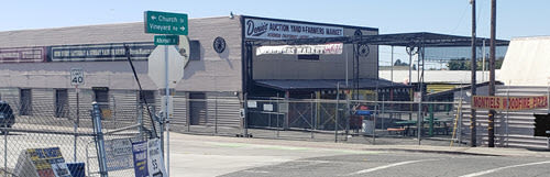 Denios walk in gate Roseville CA