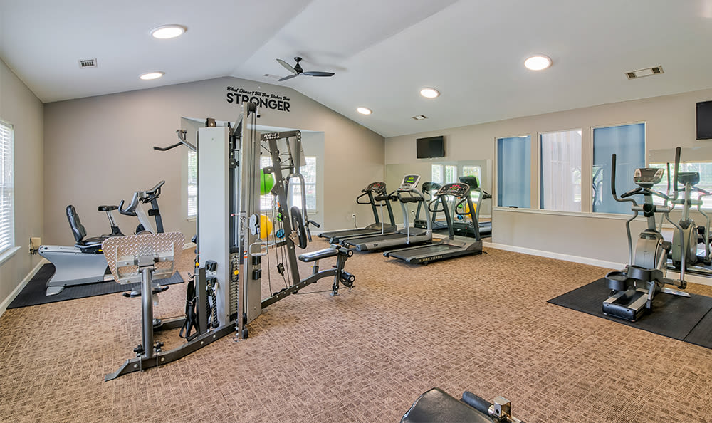 Fitness center at Crescent at Wolfchase in Memphis, Tennessee