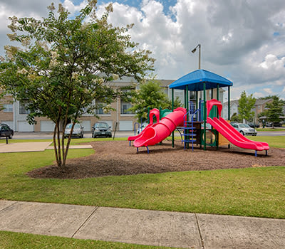 Playground at Crescent at Wolfchase in Memphis, Tennessee